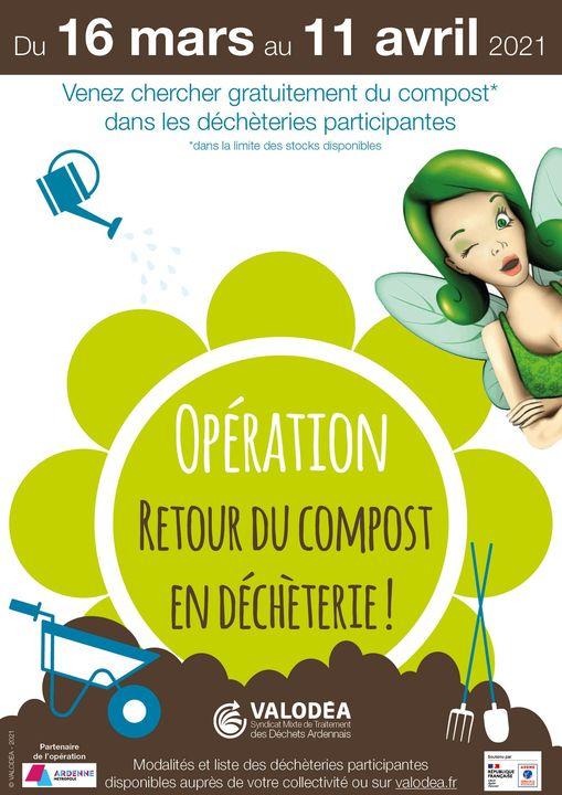 Read more about the article Retour du compost en déchèterie