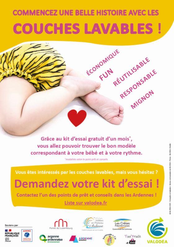 Read more about the article Ardenne Métropole : couches lavables