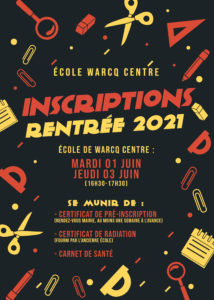 Read more about the article Inscriptions 2021 au primaire