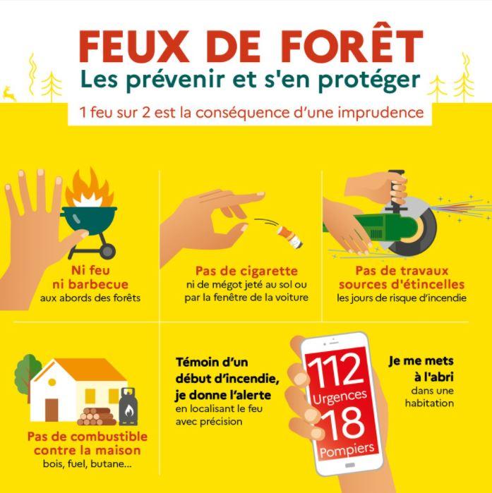 Read more about the article Prévention des feux de forêt