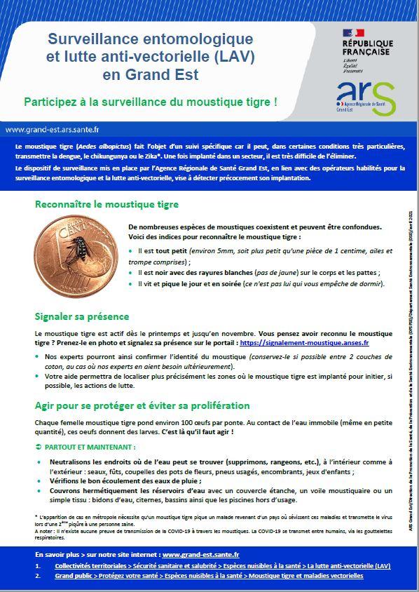 Read more about the article Participez à la surveillance du moustique tigre !