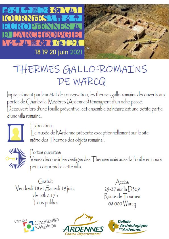 Read more about the article Thermes Gallo-Romains de Warcq