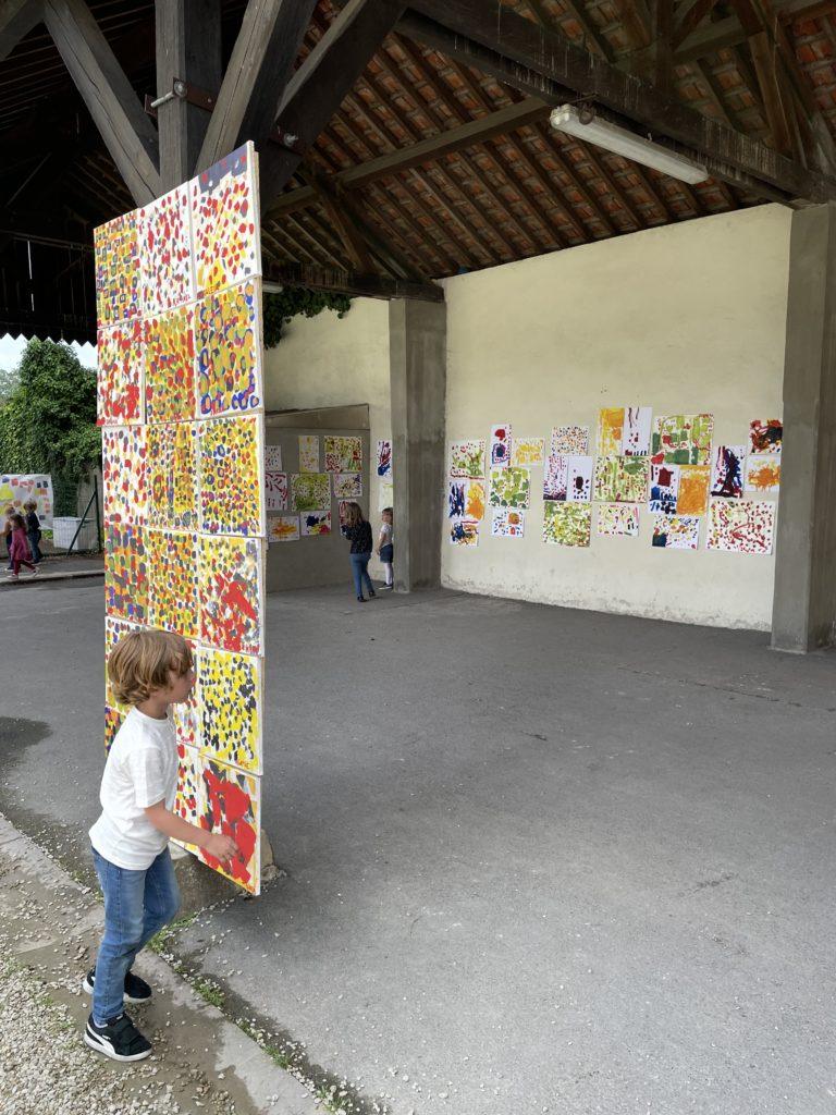 Read more about the article Projets Artistiques Globalisés – Ecoles de Warcq