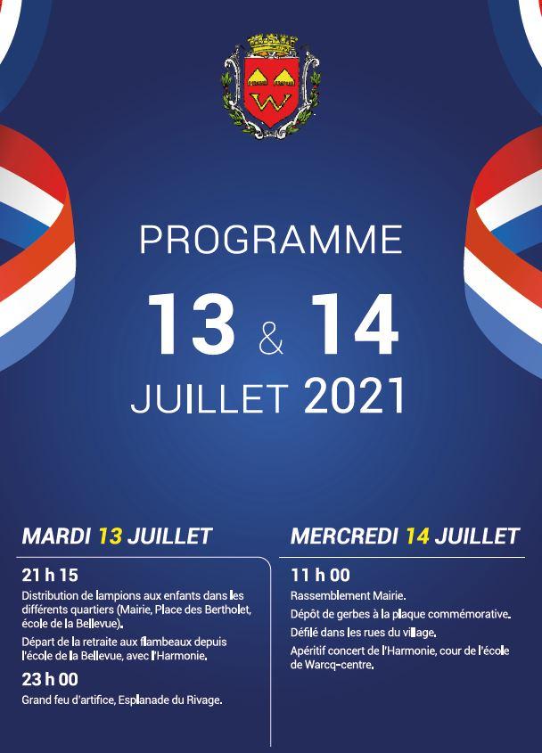Read more about the article Fête Nationale du 14 juillet