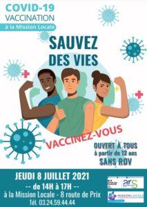 Read more about the article Vaccination à la Mission Locale